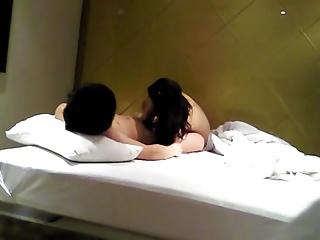 Korean Couple At arm's length Amateur Video
