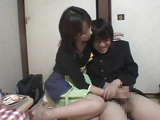 Japanese Handjob Punishment for Shoplifting