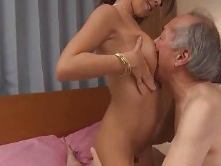 GVG-440 Lascivious OldMan & Cum Busty GalSEX7 Marina Natsuki
