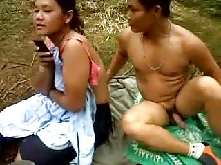 Indonesian buy off push off plantation workers outdoor fuck
