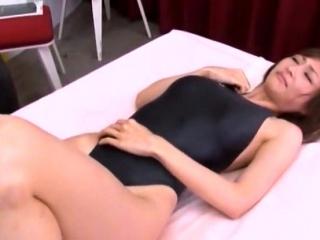 Akarii Asahina in a swimsuit