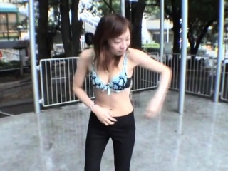 JAV public nudity extreme outdoor feature Subtitled