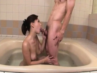 Japanese mom takes bath far young gentleman 2 (MrBonham)