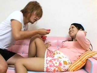 Hot older japanese whore plays with myself till she comes