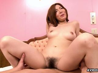 Japanese Yuna Hirose got a resemble deny hard pressed fuck uncensored