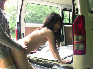 Uncensored JAV lap amateur blowjob and secretly lovemaking outside