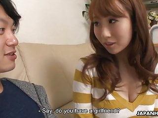 Japanese amateur, Miku Aono is making out like a pro, uncensore