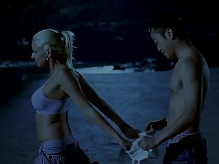 Chinese man and white girl on the coast (2007)