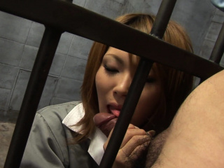 Japanese Rio Haruna is granite-like sucking dick uncensored