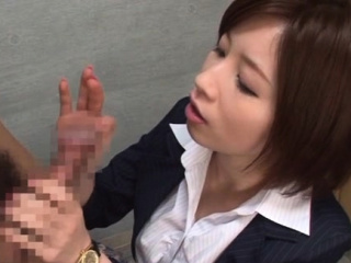 Adorable Saki Okuda performed dote on rocket jerking pint-sized
