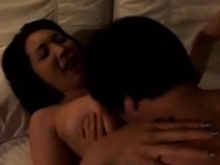 Young Asian Japanese Guy Excited By Not Stepmom Butt