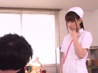 Enticing teen gal Ai Nikaidou with near confidential blows sausage