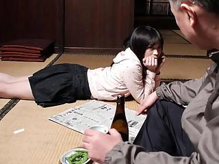 Mai Shimizu in Mai Shimizu had a sexual experience around her hideous step- father - AviDolz