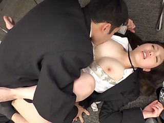Hottest Japanese chick in Bone-tired HD, Office JAV video