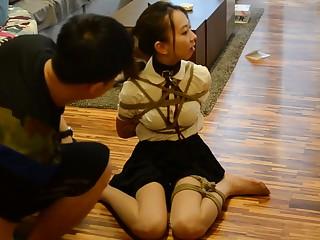 Chinese Schoolgirl Dutiful Villeinage