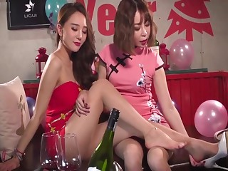Chinese sexy girl feet Amulet -2