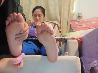 chinese partisan feet