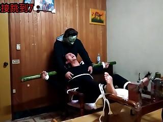 Taiwanese feet tickled