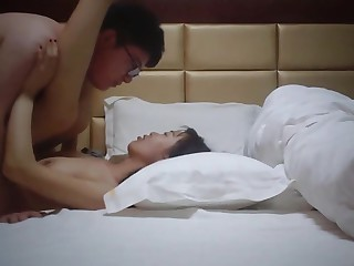 Bush-league Chinese Span Hotel Sex Tape