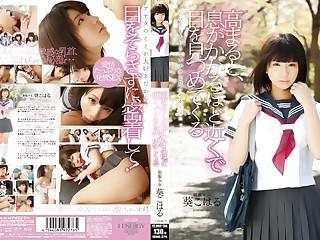 Exotic Japanese whore Koharu Aoi in Cudgel couple, handjobs JAV motion picture