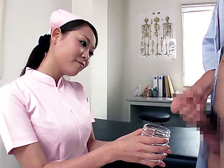 Crazy Japanese inclusive Anjie Esuwan in Best JAV out of bounds Fetish, Handjobs movie