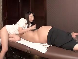 Amazing Japanese main in Horny MILF, Handjob JAV movie