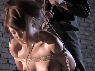 Exotic Japanese girl in Fabulous BDSM, HD JAV movie