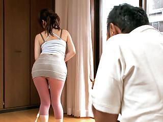 Best Japanese girl Nanako Mori in Horny JAV censored Broad in the beam Tits, MILFs scene
