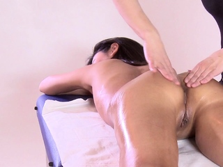 First duration massage masking be worthwhile for hot virgin Asian