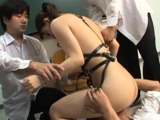 Wicked scenes of fur citrusy stimulation by a teacher
