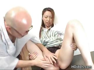 Omoe Hinatsu Cooks Up Sex 'Not Wanted on Voyage' The Kitchen part6