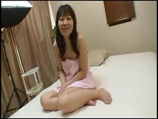 Japanese Granny Yukiko Ishii is getting vibrated and fucks