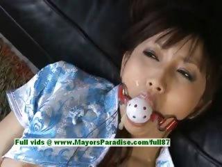 Akari Satsuki pernicious Chinese girl is doomed plus gets a facial
