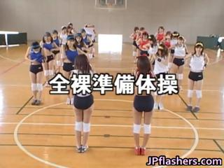 Amateur Japanese teens exposed effectuation part3