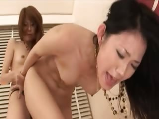 ultra sleek sexy asian lesbians
