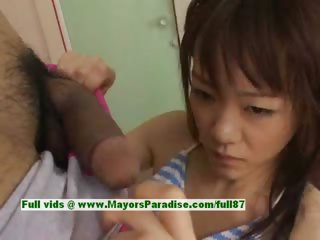 Shoko Yokoy hot girl lovely Chinese inclusive gives excellent blowjob